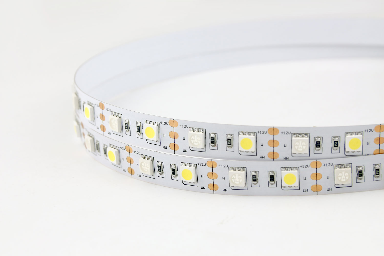 5050 60leds/m 12V White+Blue Color LED Strip Lights