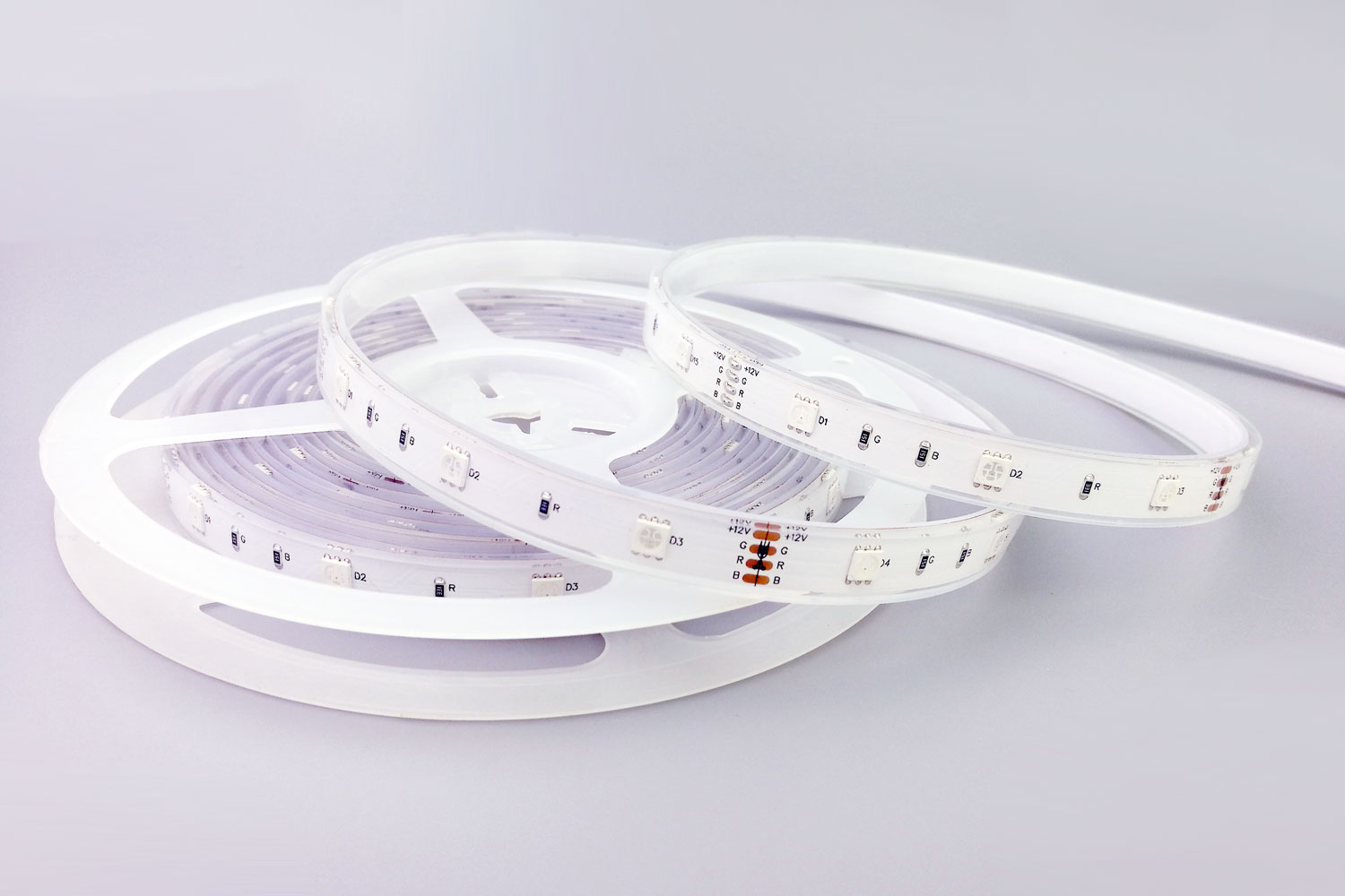 5050 30leds/m 12V Waterproof RGB Color LED Strip Lights