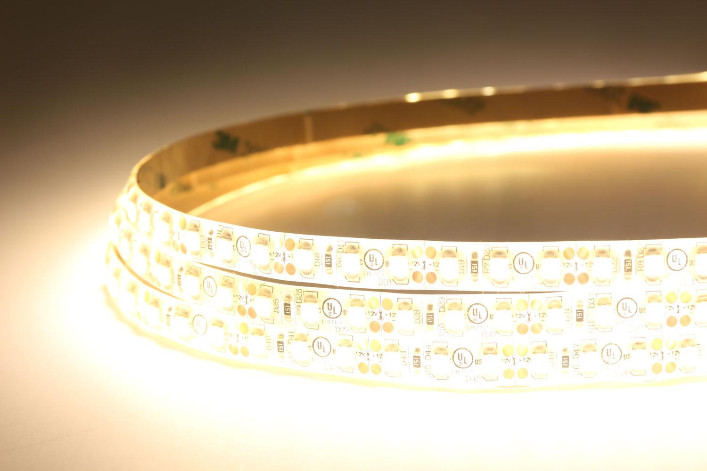 3528 120leds/m 12V Warm White Color Waterproof LED Strip Lights