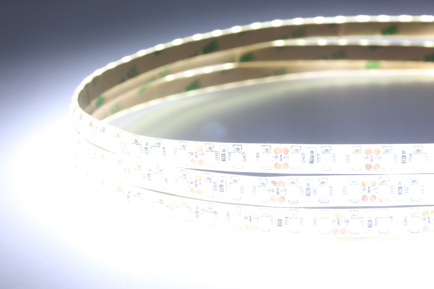 3528 120leds/m 12V White Color Waterproof LED Strip Lights