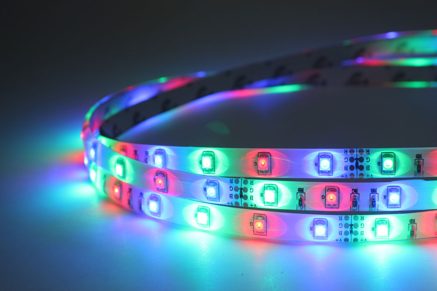 3528 60leds/m 12V RGB Color LED Strip Lights
