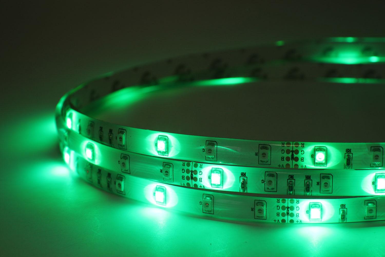 3528 60leds/m 12V RGB Color LED Strip Lights