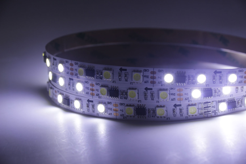 5050 12V White Color WS2811 LED Strip Lights