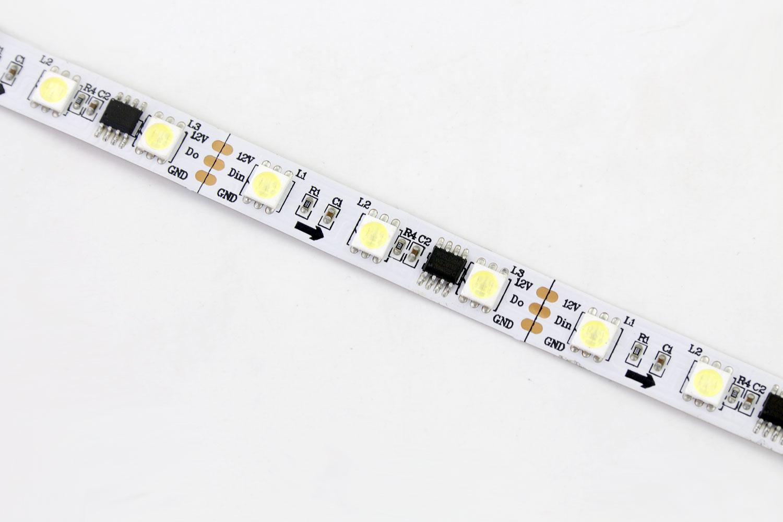 5050 60leds/m 12V White Color WS2811 LED Strip Lights