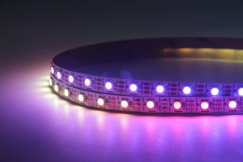 5050 60leds/m 5V RGB Color WS2812B LED Strip Lights