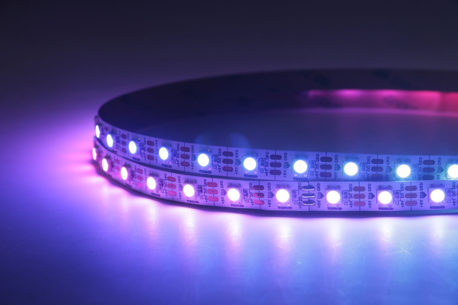 5050 60leds/m 5V RGB Color WS2812B LED Strip Lights