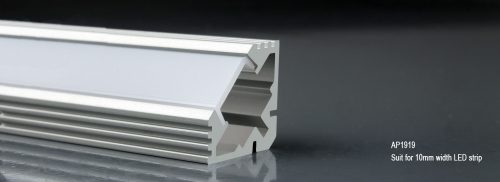LED Aluminum Profile AP1919 19x19mm