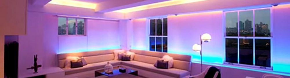 RGB, RGBW, CCT and Wifi and Zigbee LED Strips – Compatible with Alexa and Google Assistant