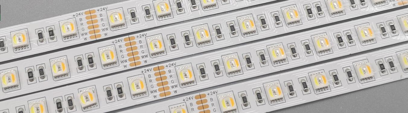 ¿Qué significa la tira de LED RGB, RGBW, RGBCW, RGBCCT?